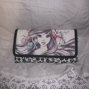 Loungefly Little Mermaid Ariel Sketch Wallet